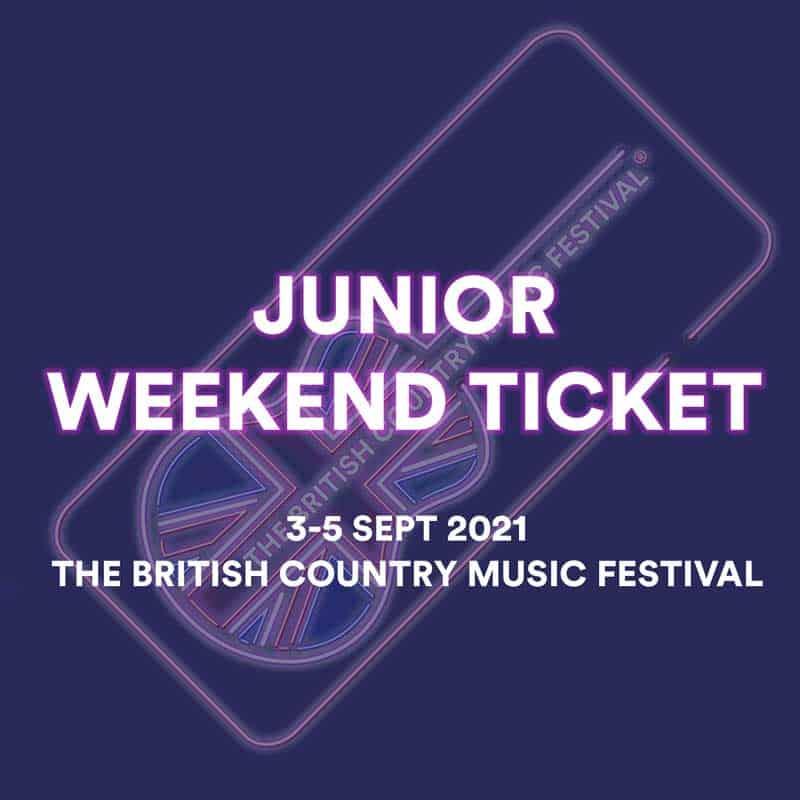 Junior Weekend Ticket 2021