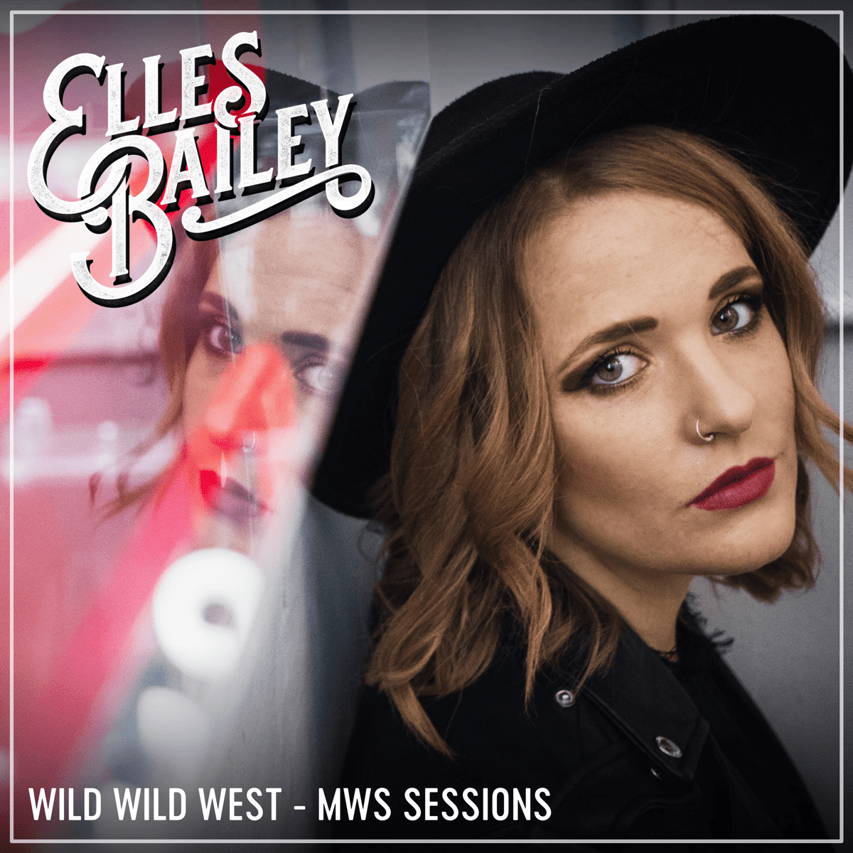 Cover Art for Elles Bailey's song Wild Wild West