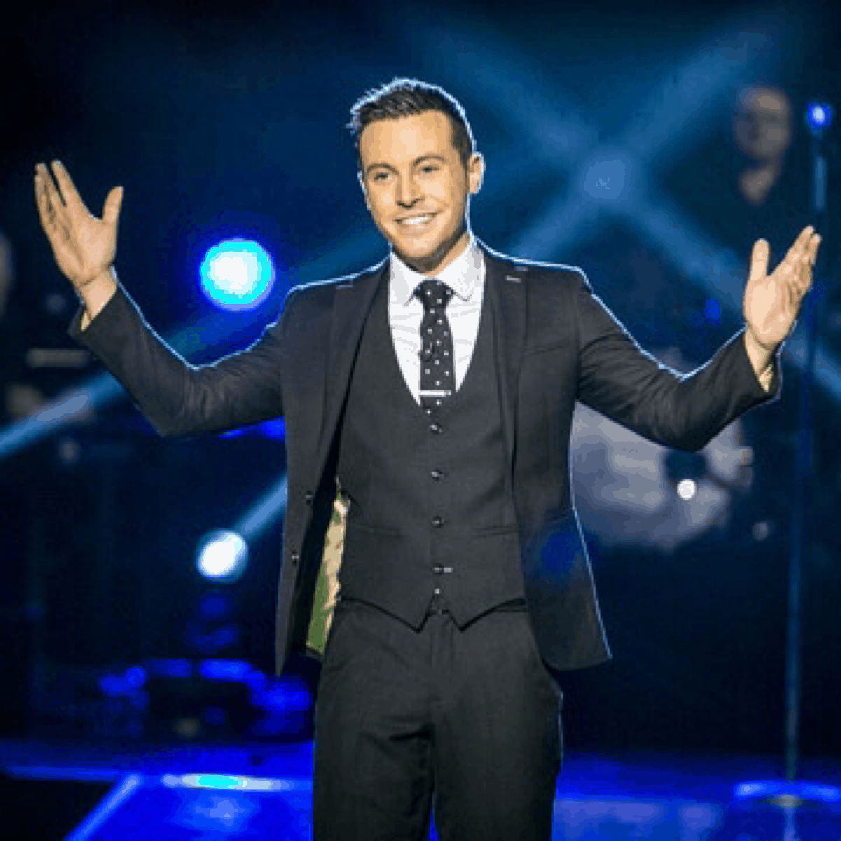 Nathan Carter performing at The British Country Music Festival