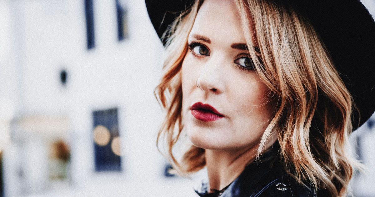 Blues Artist of The Year Elles Bailey performs at The British Country Music Festival